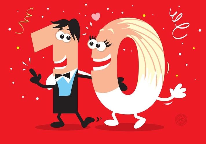 Glückwünsche Hochzeitstag Für 10 Jahre Ehe
